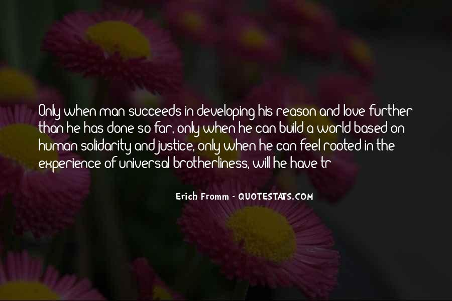 Quotes About Human Solidarity #1365805