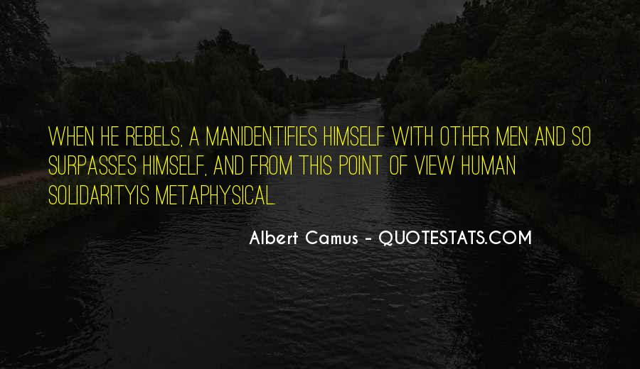 Quotes About Human Solidarity #1396168