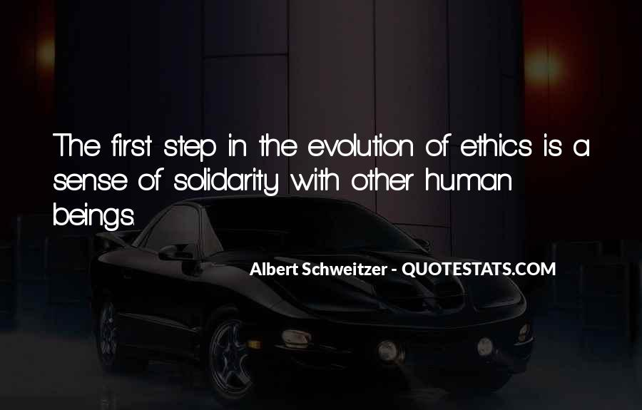Quotes About Human Solidarity #1535127
