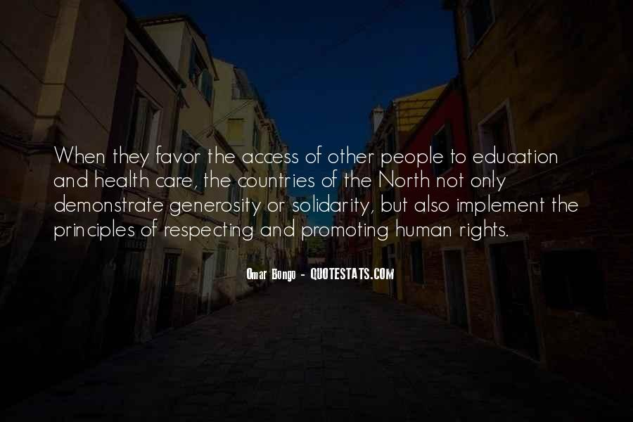 Quotes About Human Solidarity #1644969