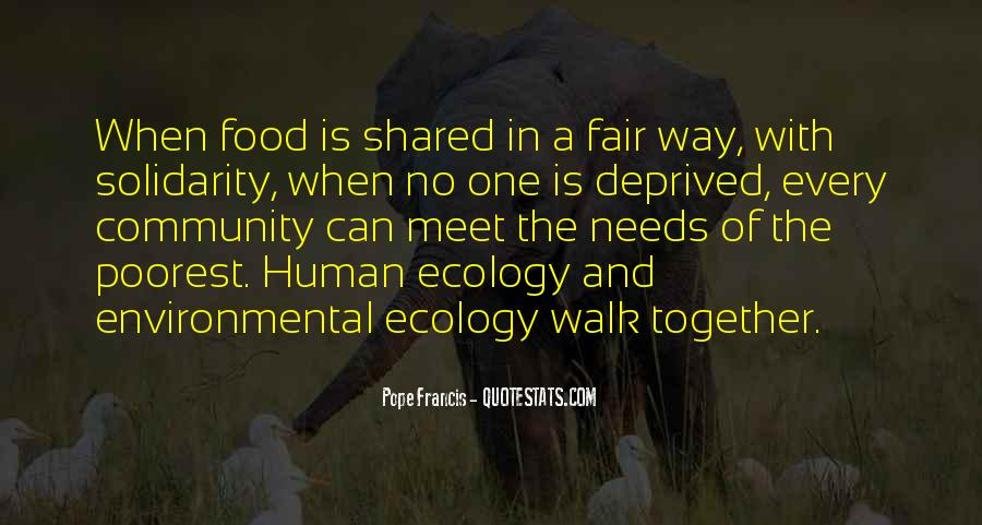 Quotes About Human Solidarity #1655888