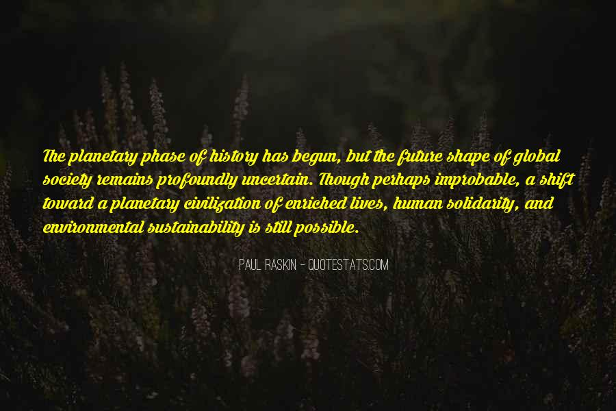 Quotes About Human Solidarity #166576