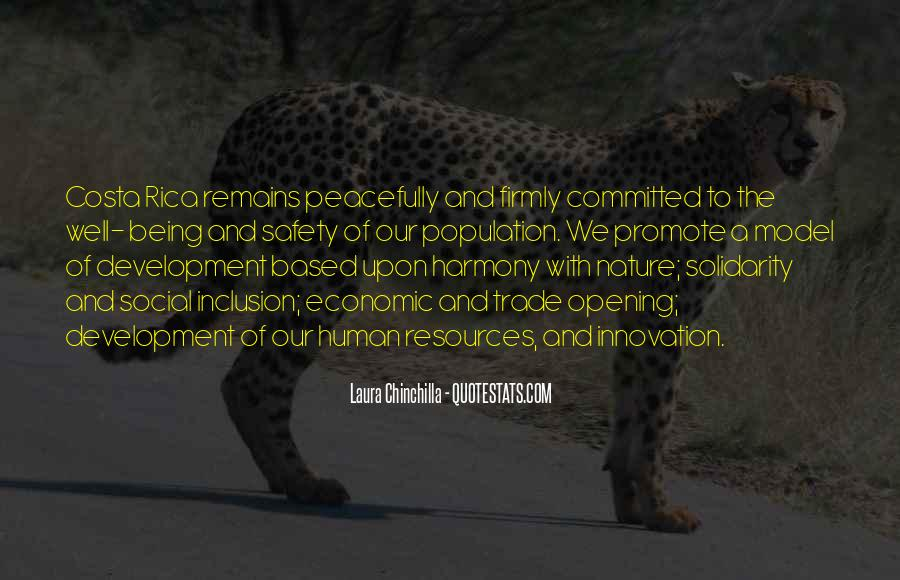 Quotes About Human Solidarity #199370