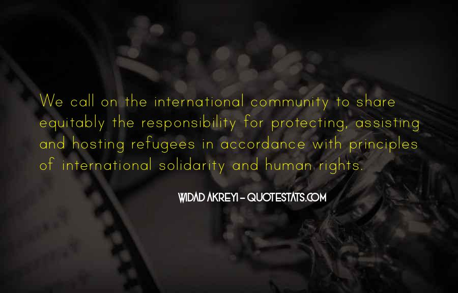 Quotes About Human Solidarity #630368