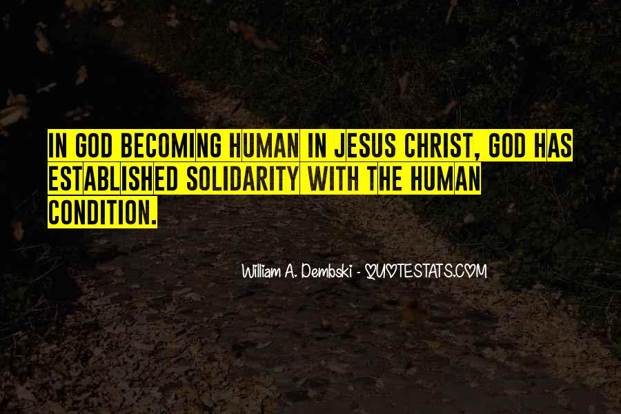 Quotes About Human Solidarity #693638