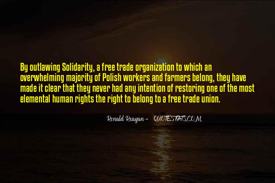 Quotes About Human Solidarity #724426