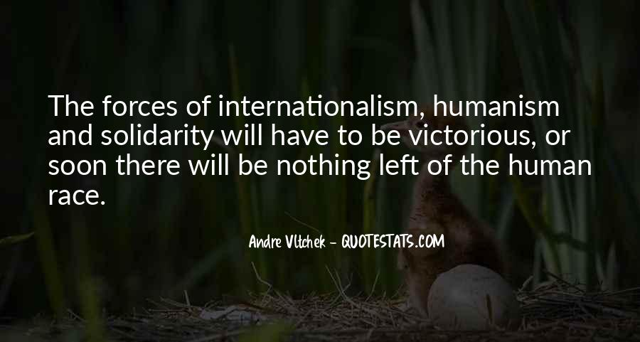 Quotes About Human Solidarity #903037