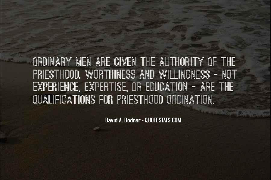 Experience And Expertise Quotes #1179401