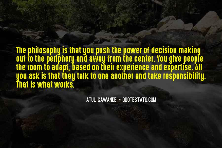 Experience And Expertise Quotes #1330740
