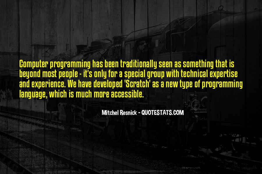 Experience And Expertise Quotes #1494208