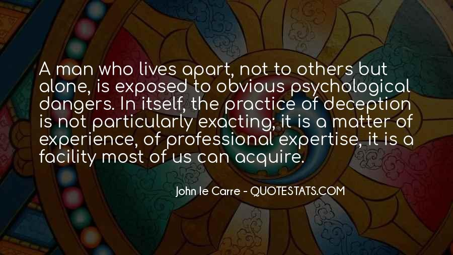 Experience And Expertise Quotes #1769953