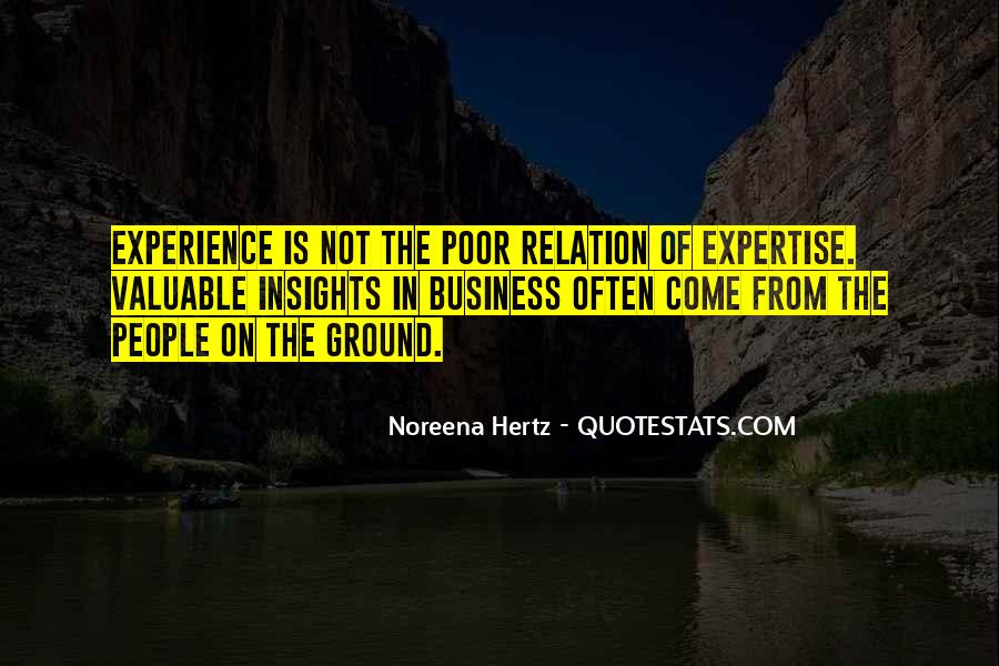Experience And Expertise Quotes #361938