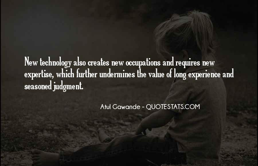 Experience And Expertise Quotes #867393