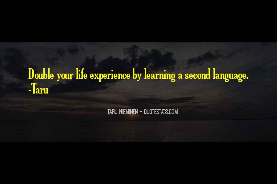 Experience Is The Best Education Quotes #179721