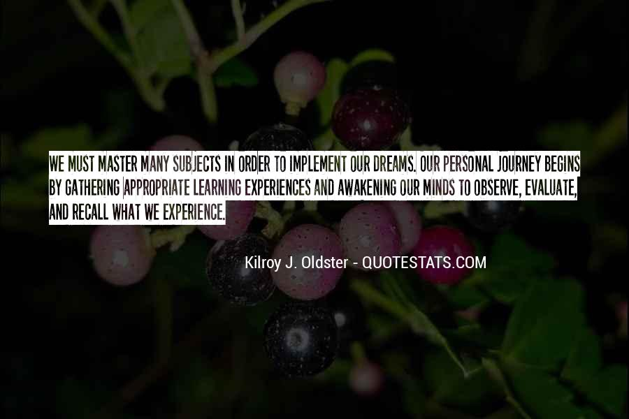Experience Is The Best Education Quotes #196328