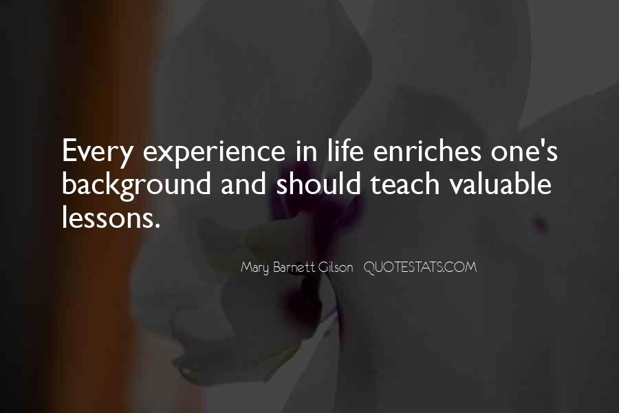 Experience Is The Best Education Quotes #20080