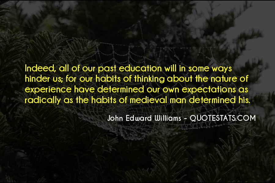 Experience Is The Best Education Quotes #225579