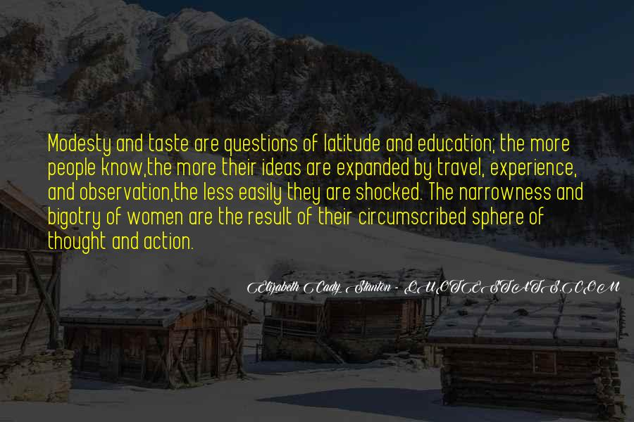 Experience Is The Best Education Quotes #240121