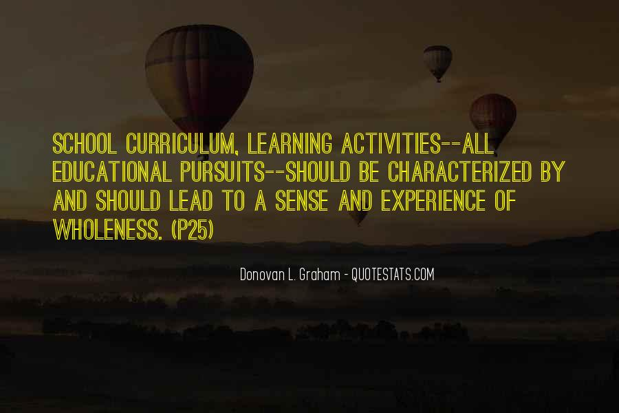 Experience Is The Best Education Quotes #268295