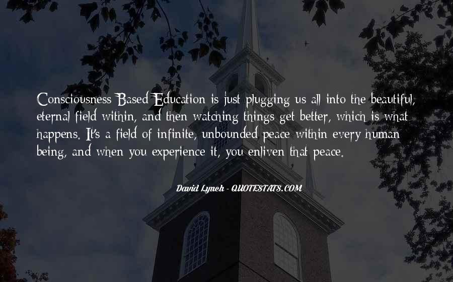 Experience Is The Best Education Quotes #460