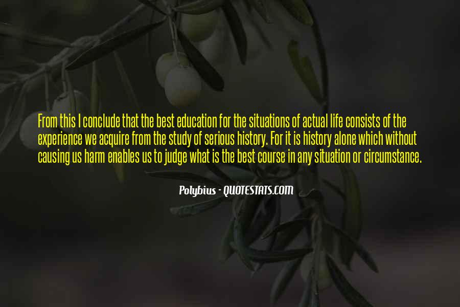 Experience Is The Best Education Quotes #667289