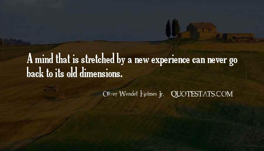 Experience Never Gets Old Quotes #271765