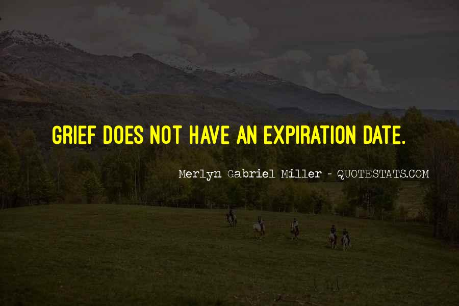 Expiration Date Quotes #111028