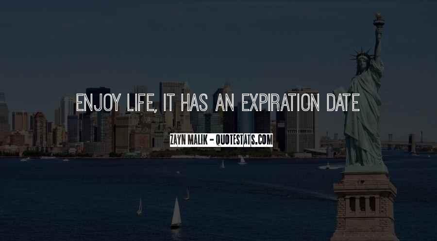 Expiration Date Quotes #1187771