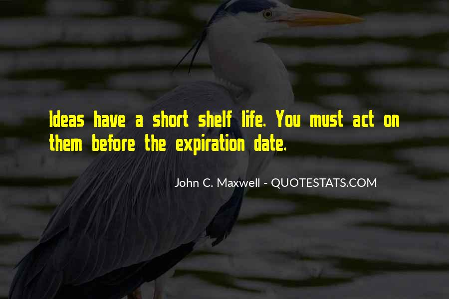 Expiration Date Quotes #1301624