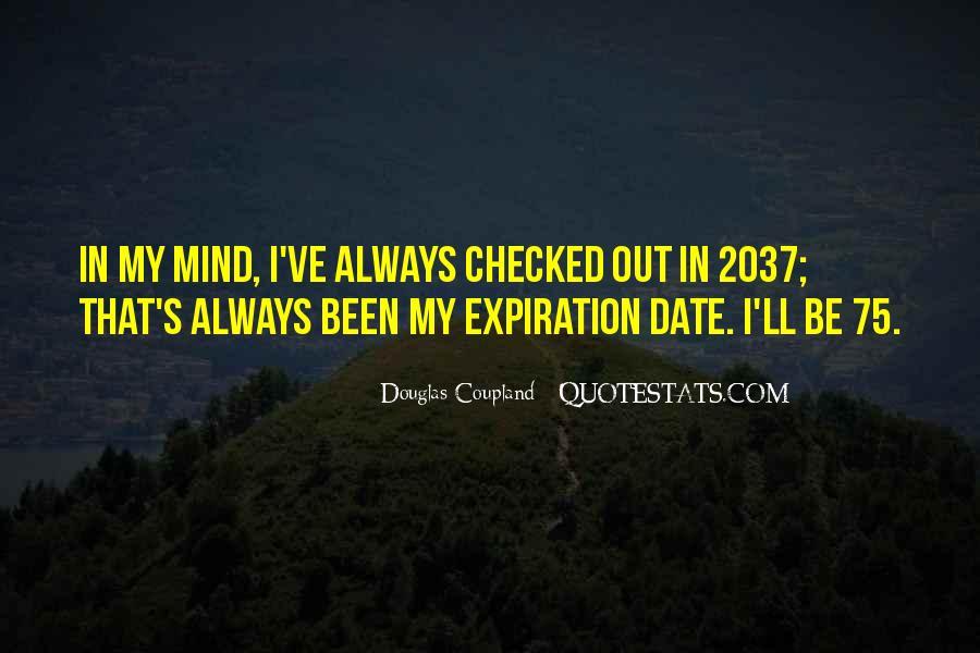 Expiration Date Quotes #1339782