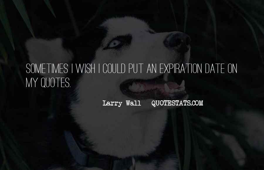 Expiration Date Quotes #913807