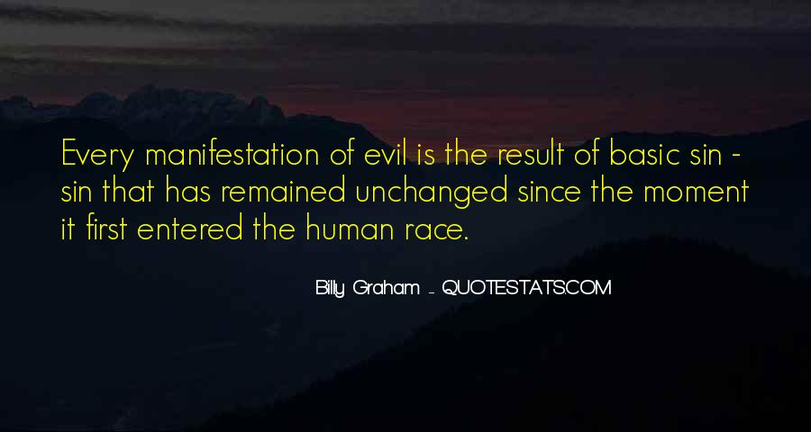 Quotes About Human Evil #121163