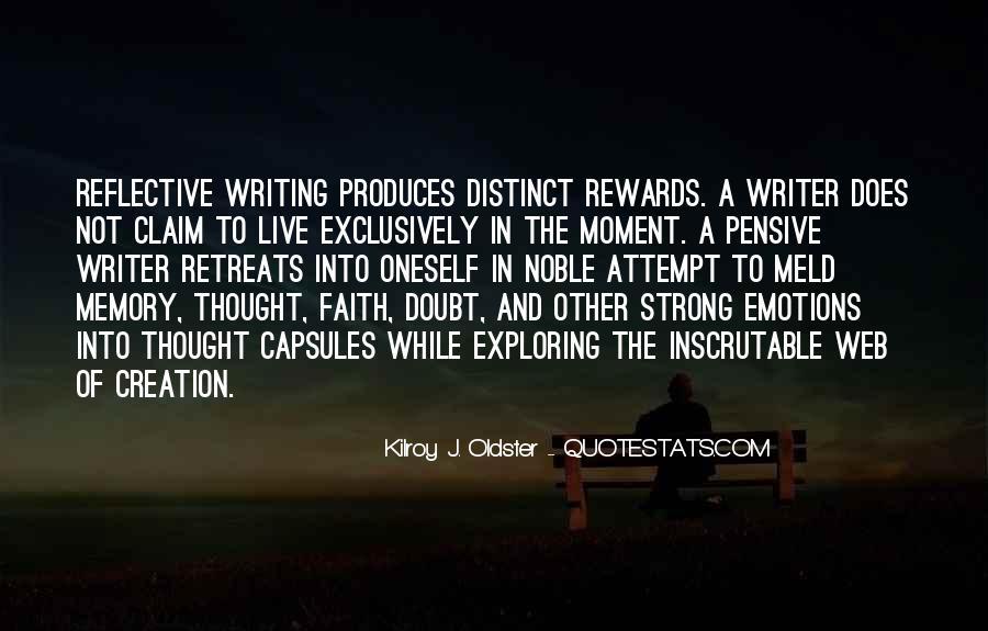 Exploring Myself Quotes #156015