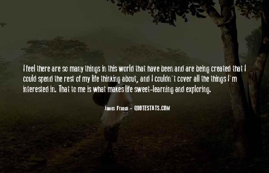 Exploring Myself Quotes #59745