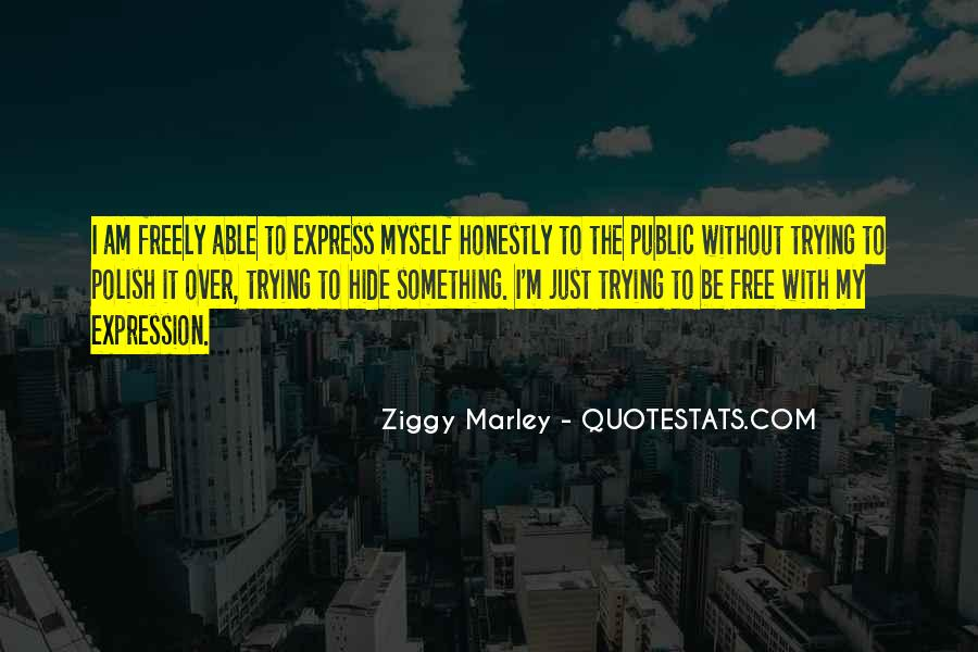 Express Freely Quotes #1811492