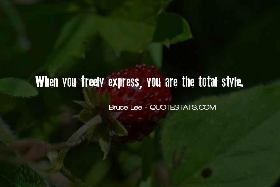 Express Freely Quotes #870743