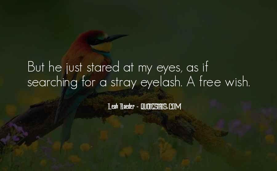 Eyelash Wish Quotes #267919