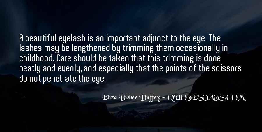Eyelash Wish Quotes #4567