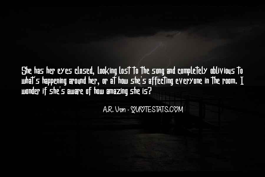 Eyes Closed Love Quotes #1046024