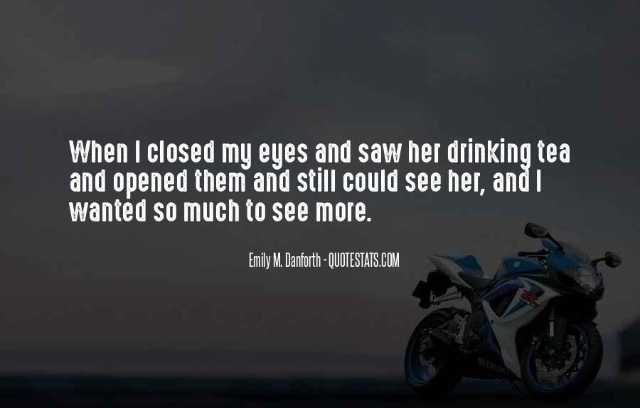 Eyes Closed Love Quotes #1071422