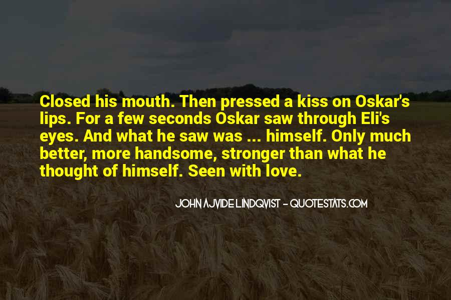 Eyes Closed Love Quotes #119813