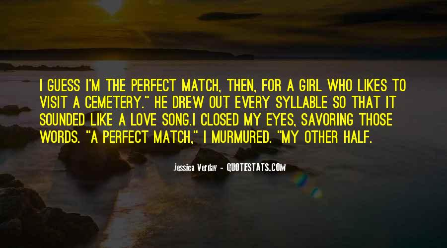 Eyes Closed Love Quotes #1228883