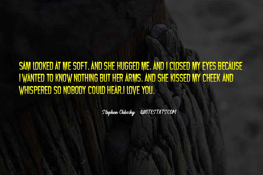 Eyes Closed Love Quotes #1521019