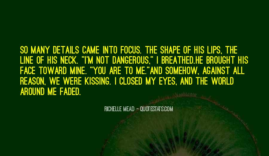 Eyes Closed Love Quotes #1697621