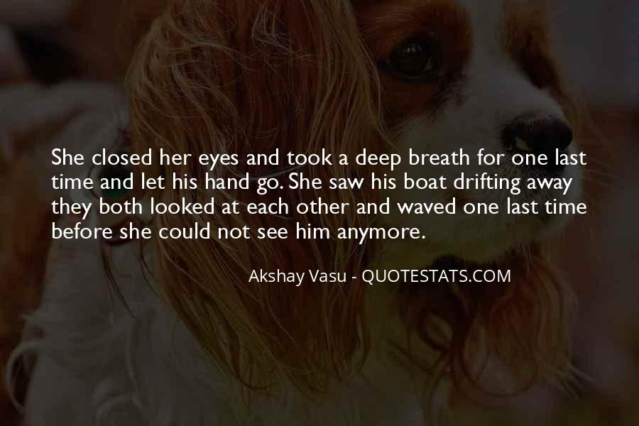 Eyes Closed Love Quotes #1865070