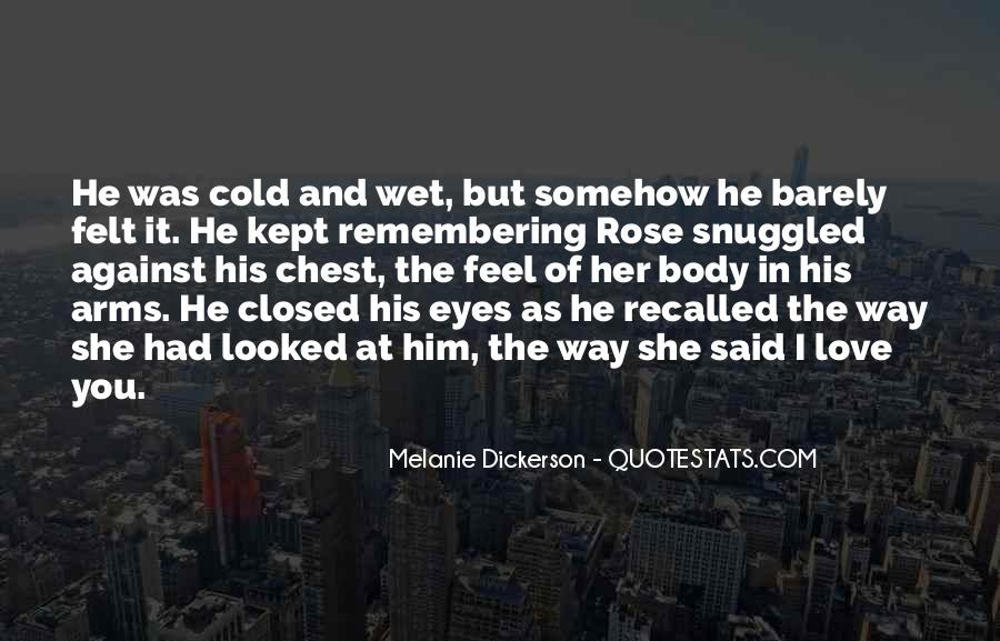 Eyes Closed Love Quotes #198514