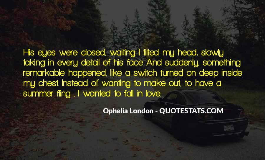 Eyes Closed Love Quotes #398395