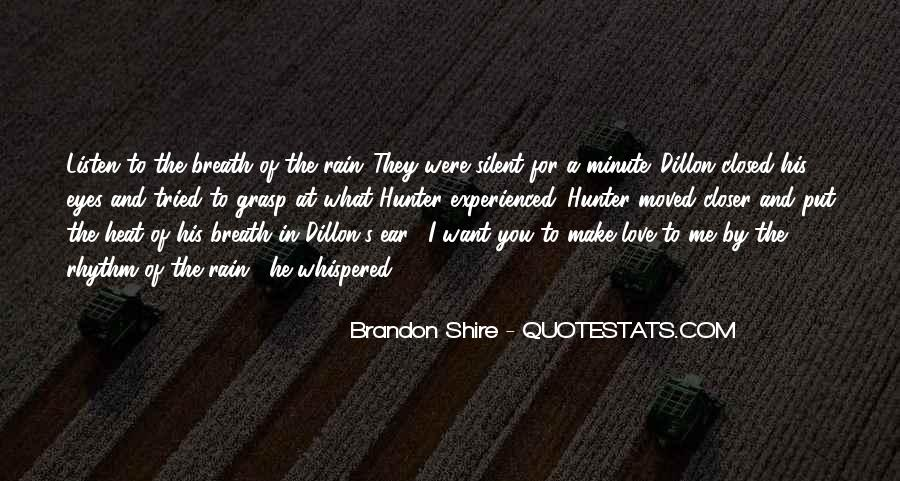Eyes Closed Love Quotes #491490