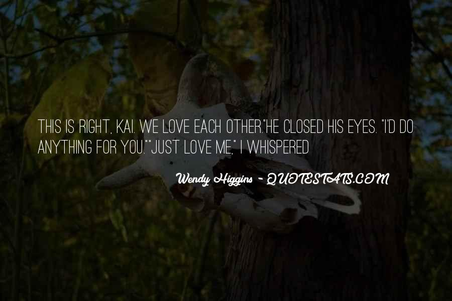 Eyes Closed Love Quotes #521382