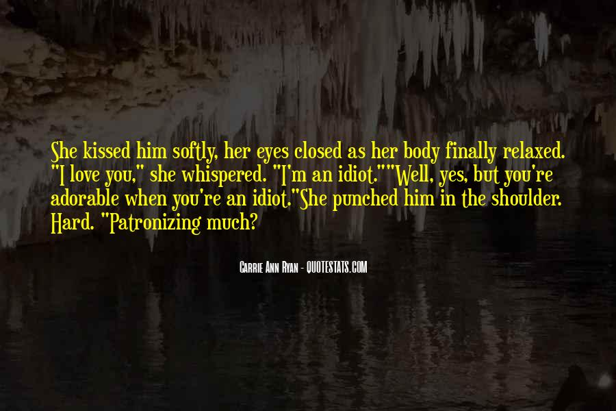 Eyes Closed Love Quotes #623069